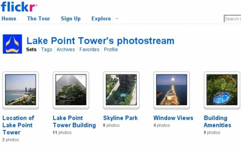 lake point tower flickr sets