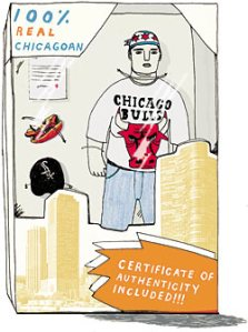 Illustration from Chicago Magazine, August 2009