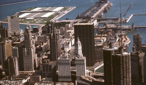 Chicago and Navy Pier, 1965  (Courtesy Zeus of Hollywood)