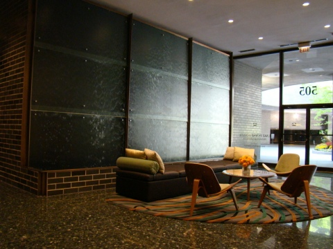 Lake Point Tower reception area